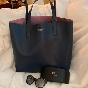 Preowned kate spade purse and armani exchange sgla